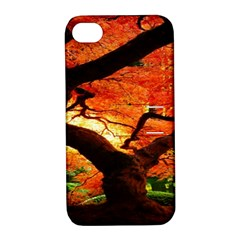 Maple Tree Nice Apple iPhone 4/4S Hardshell Case with Stand