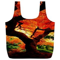 Maple Tree Nice Full Print Recycle Bags (l)