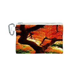 Maple Tree Nice Canvas Cosmetic Bag (s)