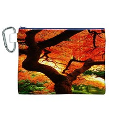 Maple Tree Nice Canvas Cosmetic Bag (XL)