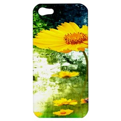 Yellow Flowers Apple Iphone 5 Hardshell Case
