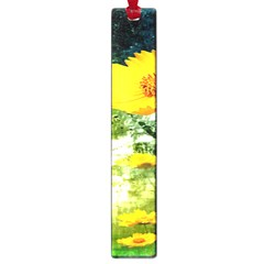 Yellow Flowers Large Book Marks