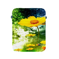 Yellow Flowers Apple Ipad 2/3/4 Protective Soft Cases