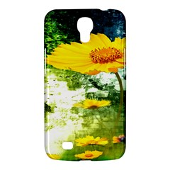 Yellow Flowers Samsung Galaxy Mega 6 3  I9200 Hardshell Case