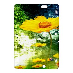 Yellow Flowers Kindle Fire Hdx 8 9  Hardshell Case