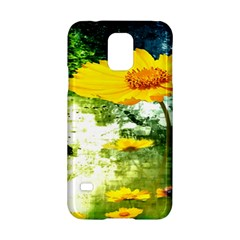 Yellow Flowers Samsung Galaxy S5 Hardshell Case