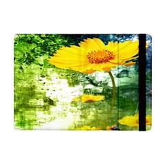 Yellow Flowers Ipad Mini 2 Flip Cases