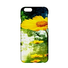 Yellow Flowers Apple iPhone 6/6S Hardshell Case
