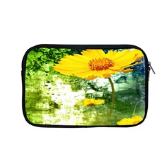 Yellow Flowers Apple Macbook Pro 13  Zipper Case