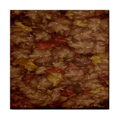 Brown Texture Tile Coasters