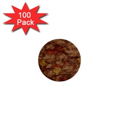 Brown Texture 1  Mini Buttons (100 pack)