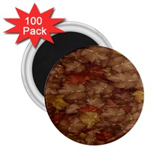 Brown Texture 2.25  Magnets (100 pack)
