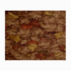 Brown Texture Small Glasses Cloth