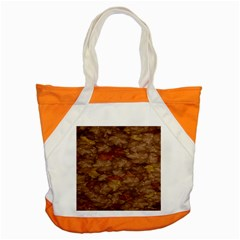 Brown Texture Accent Tote Bag