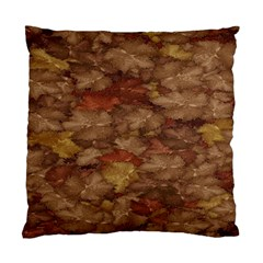Brown Texture Standard Cushion Case (one Side)