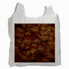 Brown Texture Recycle Bag (Two Side)