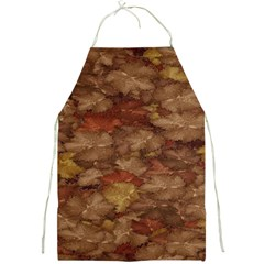 Brown Texture Full Print Aprons