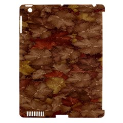 Brown Texture Apple Ipad 3/4 Hardshell Case (compatible With Smart Cover)