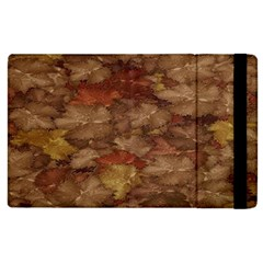 Brown Texture Apple Ipad 2 Flip Case