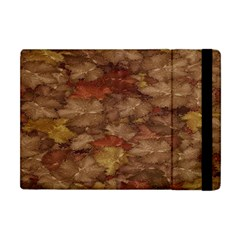 Brown Texture Apple Ipad Mini Flip Case