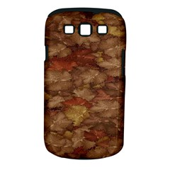 Brown Texture Samsung Galaxy S Iii Classic Hardshell Case (pc+silicone)