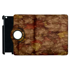Brown Texture Apple Ipad 3/4 Flip 360 Case