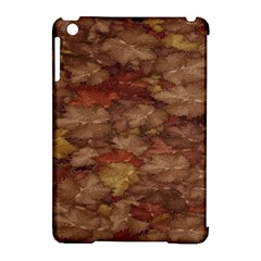 Brown Texture Apple Ipad Mini Hardshell Case (compatible With Smart Cover)