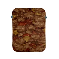 Brown Texture Apple Ipad 2/3/4 Protective Soft Cases