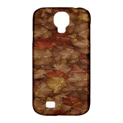 Brown Texture Samsung Galaxy S4 Classic Hardshell Case (pc+silicone)