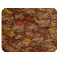 Brown Texture Double Sided Flano Blanket (medium)