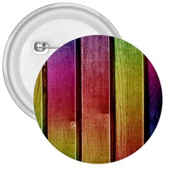 Colourful Wood Painting 3  Buttons