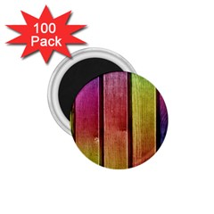 Colourful Wood Painting 1.75  Magnets (100 pack)