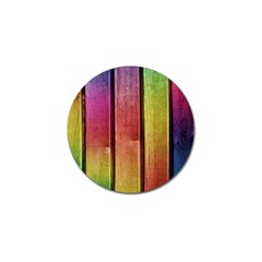 Colourful Wood Painting Golf Ball Marker