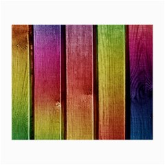 Colourful Wood Painting Small Glasses Cloth (2 Side)