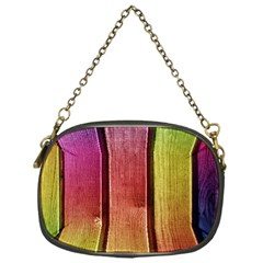 Colourful Wood Painting Chain Purses (one Side)