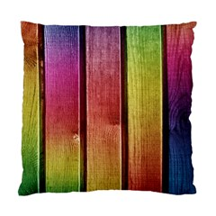 Colourful Wood Painting Standard Cushion Case (Two Sides)