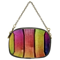 Colourful Wood Painting Chain Purses (two Sides)