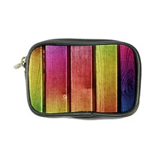 Colourful Wood Painting Coin Purse