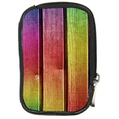 Colourful Wood Painting Compact Camera Cases