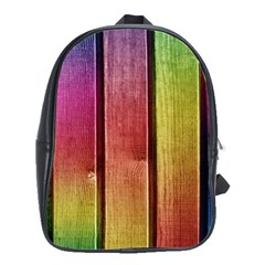 Colourful Wood Painting School Bags(Large)