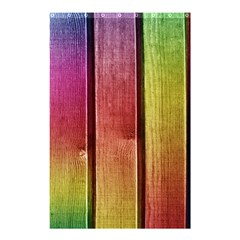 Colourful Wood Painting Shower Curtain 48  X 72  (small)