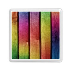 Colourful Wood Painting Memory Card Reader (square)