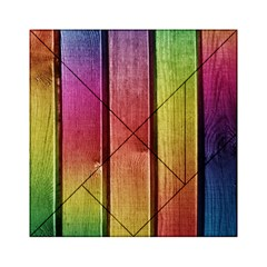 Colourful Wood Painting Acrylic Tangram Puzzle (6  x 6 )