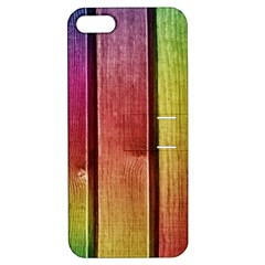 Colourful Wood Painting Apple iPhone 5 Hardshell Case with Stand