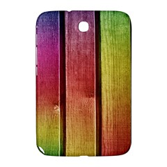 Colourful Wood Painting Samsung Galaxy Note 8 0 N5100 Hardshell Case
