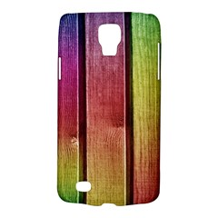 Colourful Wood Painting Galaxy S4 Active
