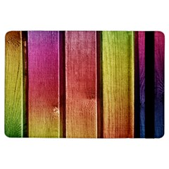 Colourful Wood Painting iPad Air Flip