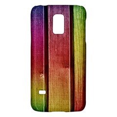 Colourful Wood Painting Galaxy S5 Mini
