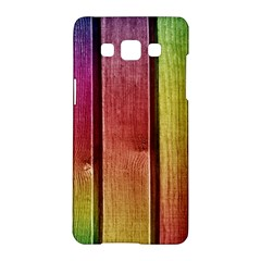 Colourful Wood Painting Samsung Galaxy A5 Hardshell Case