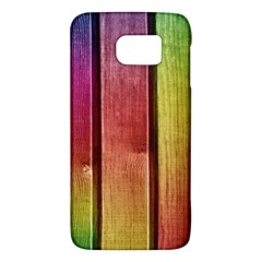 Colourful Wood Painting Galaxy S6